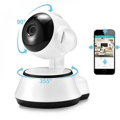 Smart Home Security Wireless Wifi HD Camera with Audio Record-Surveillance/ Baby Monitor Wireless Home Security Systems, Security Alarm, Security Surveillance, Surveillance System, Security Camera, Security Gates, Video Security, Security Service, Dslr Photography Tips