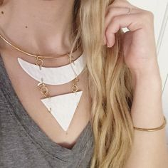 MUDDY HEART POTTERY Simplicity is striking!  Of all the necklaces one can wear, a dramatic statement necklace is sure to be the icing to any outfit