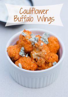 Cauliflower Buffalo Wings | That Oven Feelin'