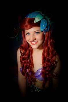 Another beautiful Ariel Ariel Disney World, Disney World Princess, Disney Parks, Disney Pixar, Real Princess, Princess Aurora, Princess Bubblegum, Disney And More, Disney Love