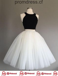 Ivory Tulle Skirt – light ivory tulle skirt, Adult Bachelorette Tutu- ivory adult tutu, white adult tulle skirt – Beading and Clothes Two Piece Homecoming Dress, Cute Homecoming Dresses, Prom Dresses Two Piece, Hoco Dresses, Cheap Prom Dresses, Pretty Dresses, Beautiful Dresses, Evening Dresses, Elegant Dresses