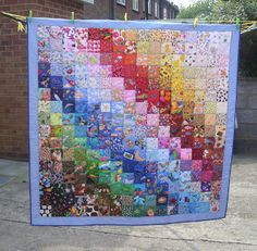 The Mermaid's Purse: I Spy Quilt Finished ..............