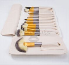 ❤ $18.46!!! Professinal 18Pcs Makeup Cosmetic Brushes for Face & Eye Shadow ❤ Purchase link: http://www.aliexpress.com/store/product/2015-Professinal-18Pcs-white-color-Women-s-Makeup-Brush-Set-Cosmetic-Brushes-for-Face-And-Eye/1627088_32259439220.html