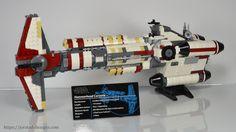 Lego Hammerhead Corvette: Shop UCS Lego Star Wars MOCs at https://jorstad-designs.com