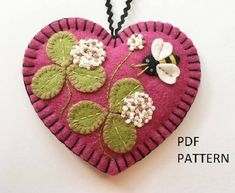 Note: This listing is for the instructional booklet and pattern ONLY, which will be instantly available for download after purchase.* Im thrilled to offer my popular All In Clover ornament as a PDF tutorial and pattern! You will receive a download for an easy-to-read 12 page booklet with a