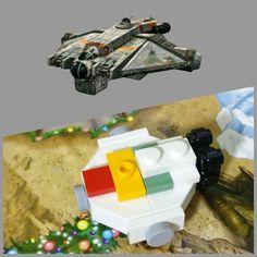 Día 1: Fantasma/Ghost #starwars #rebels #ghost #Lego #instalego #legogram #afol#adventcalendar