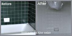 Before & After Bath Tile paint