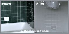 Before/After Bath Tile