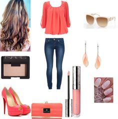 """""""A Casual Day"""" by shinebrightlikeadiamondd ❤ liked on Polyvore"""