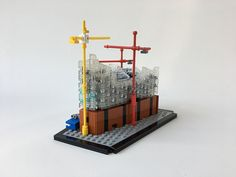 Lego Mocs Micro ~ Moritzbuilt an unfinished version of theElbphilharmonie Concert Hall, in Hamburg Germany. While the space is a beloved landmark it was once a laughing stock due to a severe increase in budget. My…