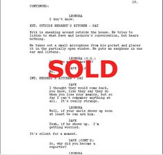 Sell Your Screenplay