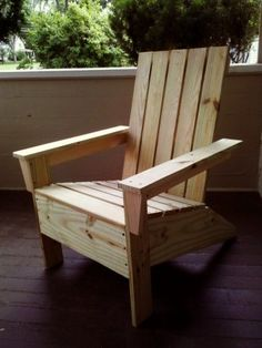 First adirondack chair! | Do It Yourself Home Projects from Ana White