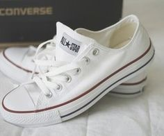 All-star white converse Converse Star, Outfits With Converse, Converse Shoes, Cheap Converse, Shoes Sneakers, Converse High, White Sneakers, Casual Outfits, Looks Con Converse