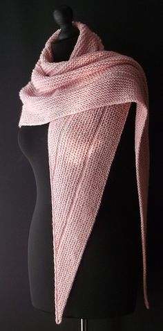 Beginners Triangular shawl by Brian Smith