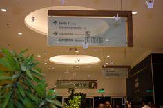Wayfinding - Ceiling sign  - Park Shopping Maceió - Alagoas - Brazil