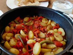 Paprika- Kartoffel- Curry