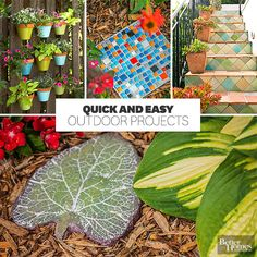 Get outside this weekend with these DIY projects!