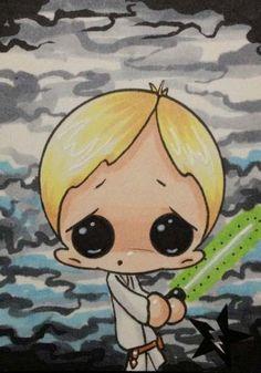 Luke Skywalker from Star Wars by Michael Banks (Sugar Fueled)