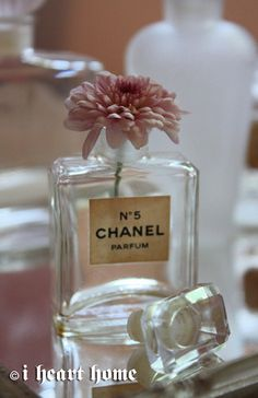 Pretty Chanel No 5 Perfume Bottle