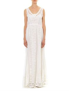 Collette by Collette Dinnigan Lacey Days maxi dress