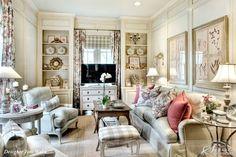 Beautiful room designed by Joni Webb of Cote de Texas