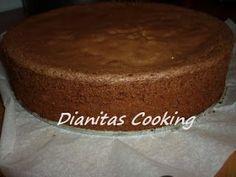 dianitas cooking: Σοκολατένιο Παντεσπάνι για Τούρτες, Βήμα, Βήμα!!!! και Πώς να το Κόψετε.!!!!