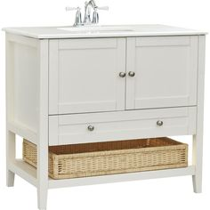 """You'll love the Creighton 30"""" Single Bathroom Vanity Set at Wayfair - Great Deals on all Home Improvement  products with Free Shipping on most stuff, even the big stuff."""