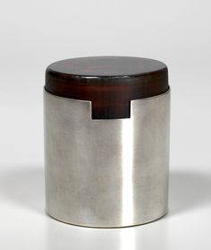 Anonymous; Inciso Glass and Silver-Plated Brass Box by Christofle, 1960s.