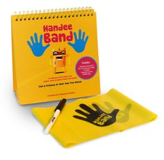 When you buy the Handee Band Exercise Kit everything you need is included!! You will receive: 1 Handee Band (4 Feet long, 6 lb Resistance Band with Hand Prints printed on the band) 15 Handee Illustrat