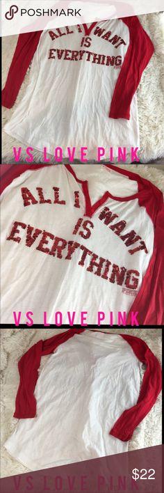 Victoria Secret Love Pink Night Shirt Small Victoria Secret Love Pink Night Shirt Small PINK Victoria's Secret Intimates & Sleepwear Pajamas