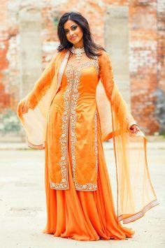 ON SALE> Saffron Crystalized Jacket Chiffon Lehenga. Jacket Lehenga, Lehenga Skirt, Saree, Mix Match, Contemporary Style, Indian Fashion, Desi, Paisley, Chiffon