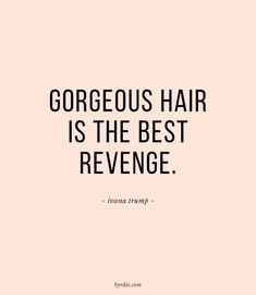 Gro London gorgeous hair is the best revenge
