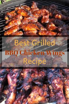 You have got to check out this recipe for some of the Best Grilled BBQ Chicken Wings. These are really tasty! Check it out. More from my siteSalsa Verde Grilled Chicken Best Chicken Wing Recipe, Best Bbq Chicken, Chicken Wing Recipes, Grilled Chicken Recipes, Grilled Meat, Chipotle Chicken, Chicken Dips, Keto Chicken, Bbq Chicken Wings Marinade