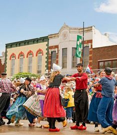 Each May, the Dutch-theme Tulip Time festival blooms in Pella. Details on this and other spring Midwest festivals: http://www.midwestliving.com/travel/around-the-region/5-midwest-spring-flower-festivals/