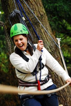 Treetop adventure set in the stunning grounds of Beamish Hall Hotel its the perfect adventure for any family for more information please visit: http://www.thisisdurham.com/things-to-do/beamish-wild-treetop-adventure-p572541