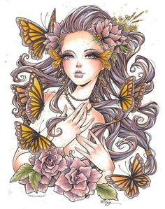 Monarch illustration by Kellee Riley