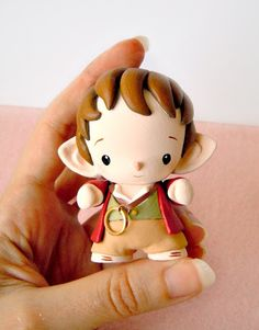 Soooo cute!!! Mijbil Creatures | Micro Munny - Bilbo from The Hobbit | Online Store Powered by Storenvy
