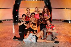 Top 8 contestants L-R Back Row: Lindsay Arnold, Witney Carson, Tiffany MaherL-R Middle Row: Cole Horibe, Chehon Wespi-Tschopp, Cyrus Spencer, L-R Front Row: Eliana Girard, Will Thomas on SO YOU THINK YOU CAN DANCE.