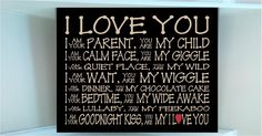 I Love My Son Quotes | ... love you I am your parent you are my child I am your quiet you are my