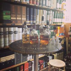 @DalmoreWhisky @OldPulteneyMalt tasting of some fine drams in the shop every Saturday to widen your whisky knowledge!