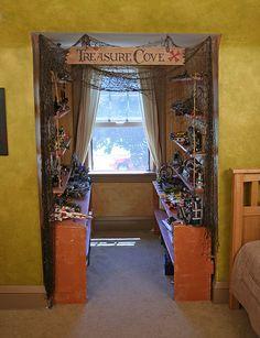 Treasure Cove by Martin E. O'Connor, via Flickr Pirate room