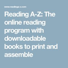 Award-winning reading solution with thousands of leveled readers, lesson plans, worksheets and assessments to teach guided reading, reading proficiency and comprehension to students Online Reading Programs, Ell Students, Read Aloud Books, Educational Websites, Learning Tools, Guided Reading, Teaching English, Lesson Plans, Literacy