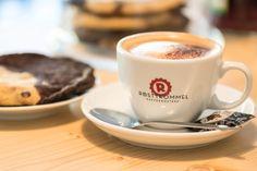 """Cappuccino aus RÖSTTROMMEL -  Bohne und unser """"Brookie"""""""