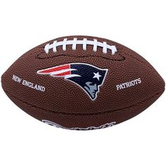 #Ultimate Tailgate #Fanatics  Wilson New England Patriots 9'' Mini Soft Touch Football
