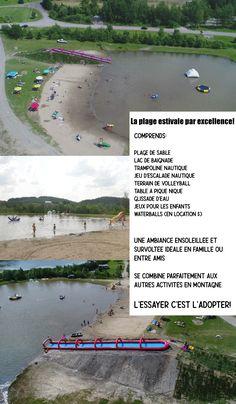 PLAGE ESTIVALE - Domaine du RadarDomaine du Radar Escalade, Golf Courses, Chalets, Swim, Vacation