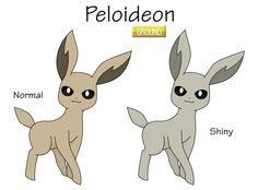 Fake Eeveelution - Peloideon by Reitanna-Seishin.deviantart.com on @DeviantArt