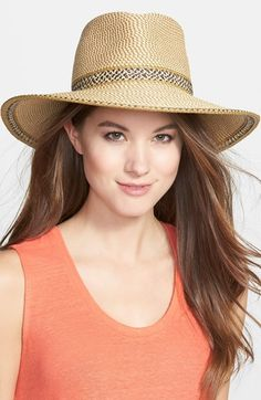 Eric Javits 'Georgia' Woven Hat available at #Nordstrom