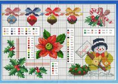 Point de croix Noël *m@* Cross stitch