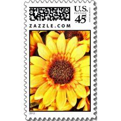 Black Eyed Susan Sunflower Postage Stamp