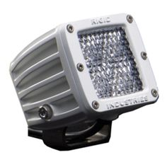 Rigid Industries M-Series - Dually LED Single - 60 Degree Lens - Diffused